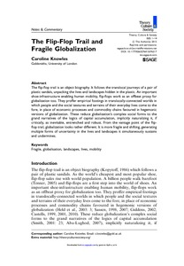 c847730ad04e The Flip-Flop Trail and Fragile Globalisation - Goldsmiths Research ...