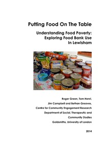Putting Food On The Table Understanding Food Poverty